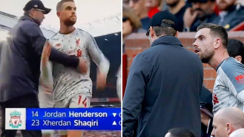 Jurgen Klopp Confronted Jordan Henderson After Refused Handshake Incident
