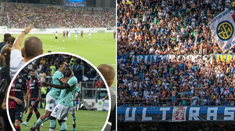 Inter Milan Ultras Defend Cagliari Fans For Racially Abusing Romelu Lukaku In Shocking Statement