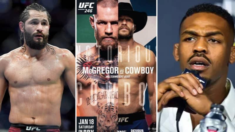 Jorge Masvidal, Jon Jones and Kamaru Usman Make Conor McGregor Vs Donald Cerrone Predictions