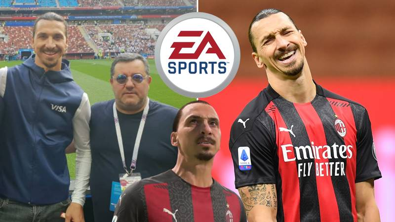 Mino Raiola Confirms 300 Players Are Ready To Join Zlatan Ibrahimovic In FIFA 21 Likeness Use Battle