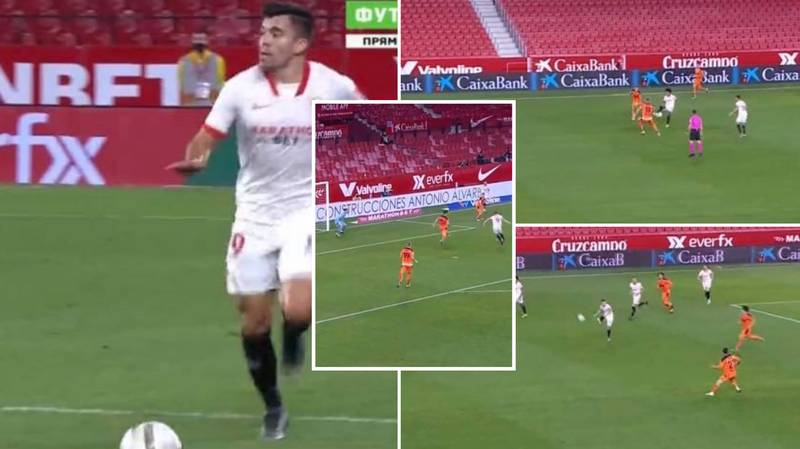 Sevilla Have Just Completed Football With The Most Beautiful, 37-Pass Team Goal Involving All 11 Players