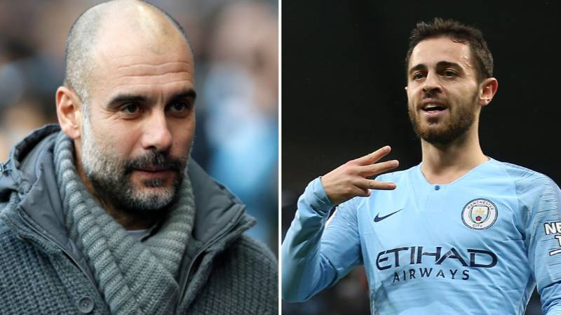 Pep Guardiola Claims Bernardo Silva Is One Of The Most Talented Players He's Worked With