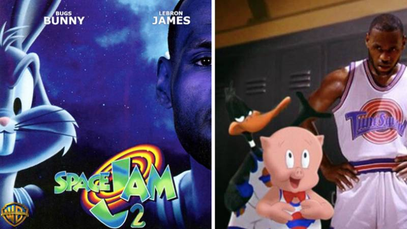 Space Jam Sequel Starring LeBron James In The Pipeline