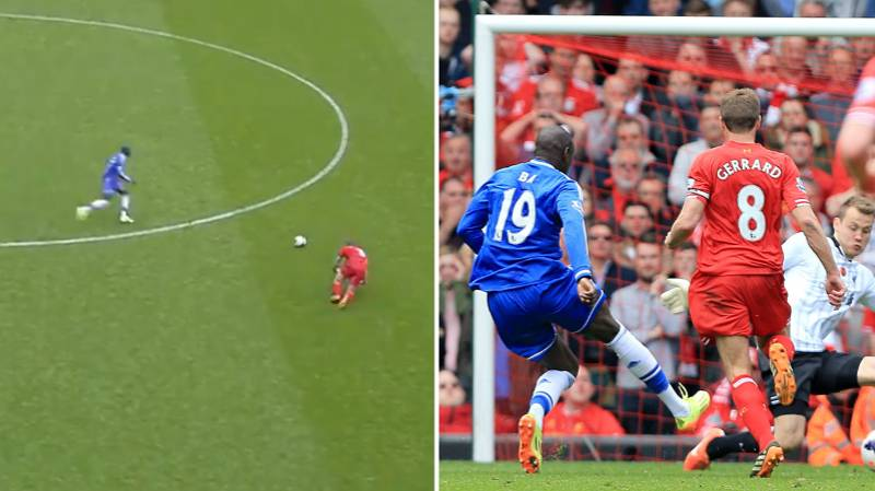 Demba Ba Reveals He Has No Sympathy For Steven Gerrard's Slip