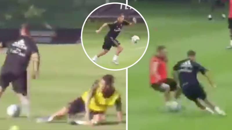 Eden Hazard Is Already Ending Careers In Real Madrid Training