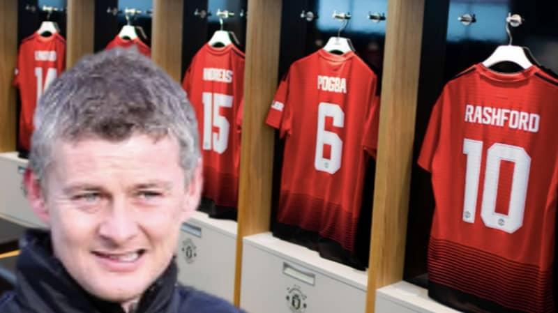 The Simple Dressing Room Change Ole Gunnar Solskjaer Has Made At Man Utd