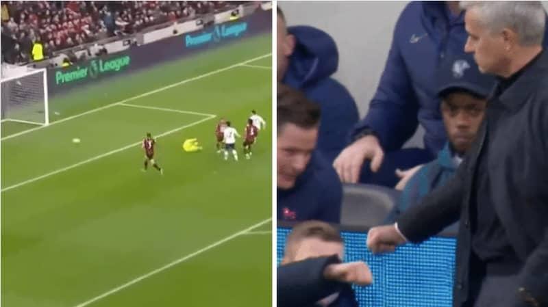 Jose Mourinho Fist Bumps The Ball Boy After Spurs Opener