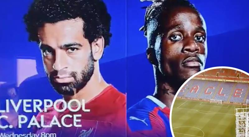 Crystal Palace Call Liverpool 'Another Club' After Sky Sports Advert Failure