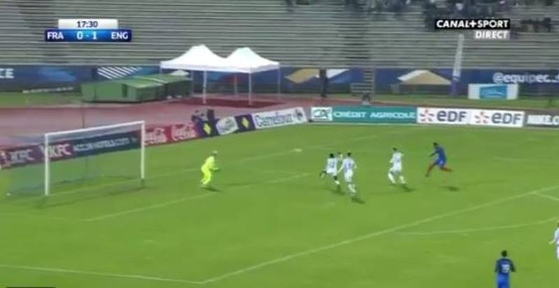 WATCH: Moussa Dembele Lashes Home Quality Double Against England U21s
