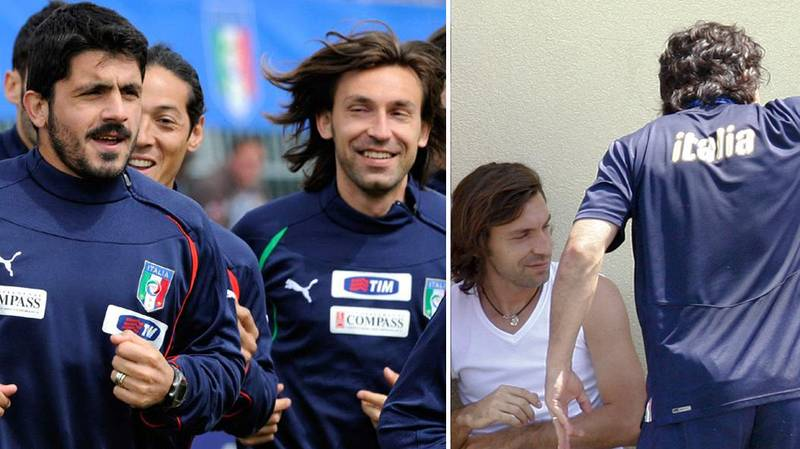 Throwback: Remembering The Time Gennaro Gattuso Tried To Kill Andrea Pirlo With A Fork