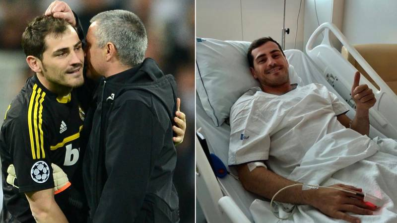 Jose Mourinho Reached Out To Iker Casillas When It Mattered Most