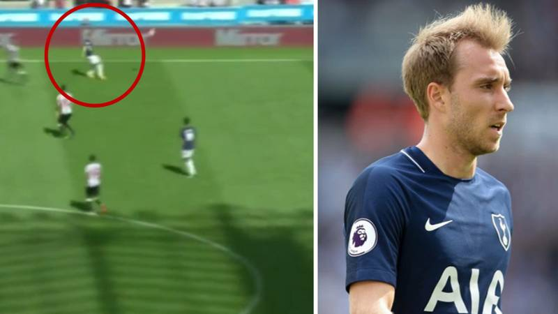 WATCH: Christian Eriksen Produced The Naughtiest Skill Of The Weekend Against Newcastle