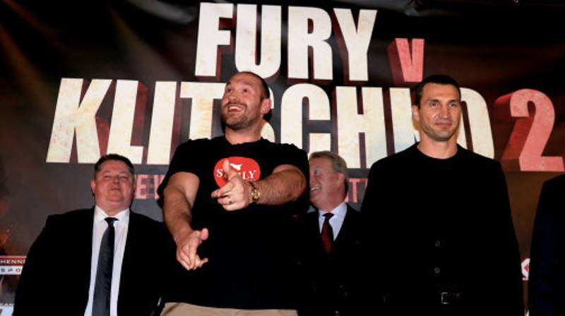 Tyson Fury Has Called Out Vitali Klitschko On Twitter In Sublime Fashion