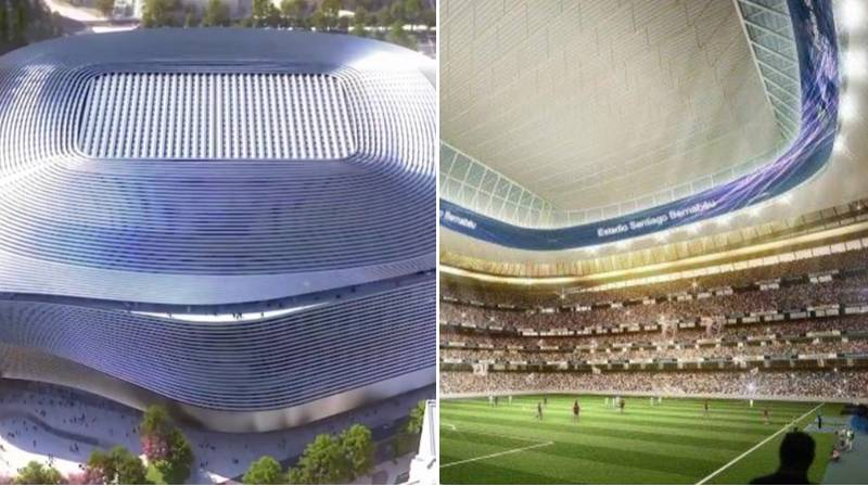 Real Madrid Release Insane Video Of Inside The New Santiago Bernabeu Stadium