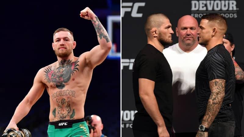 "Conor McGregor ""Probably Hoping And Praying"" Dustin Poirier Beats Khabib Nurmagomedov At UFC 242"