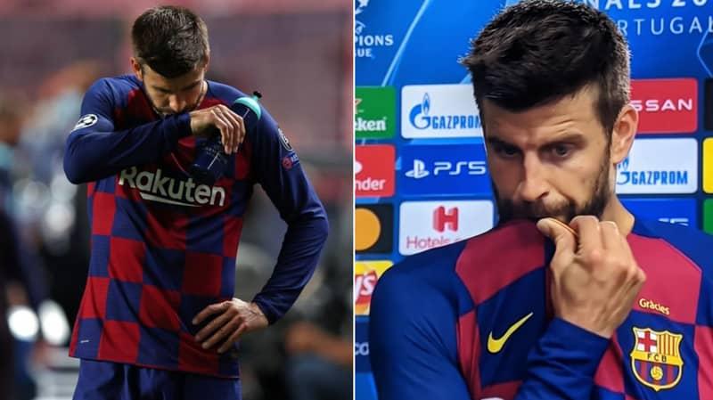 Gerard Pique Says Barcelona Have Hit 'Rock Bottom'