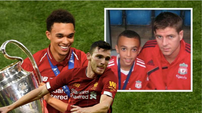 Steven Gerrard Responds To Alexander-Arnold And Robertson Being Left Out Of World XI