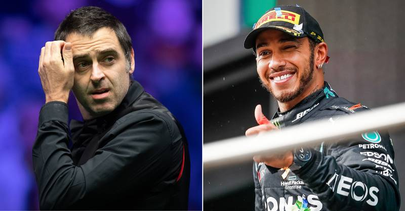 Ronnie O'Sullivan Names His Seven Modern Sporting GOATs Above Lewis Hamilton