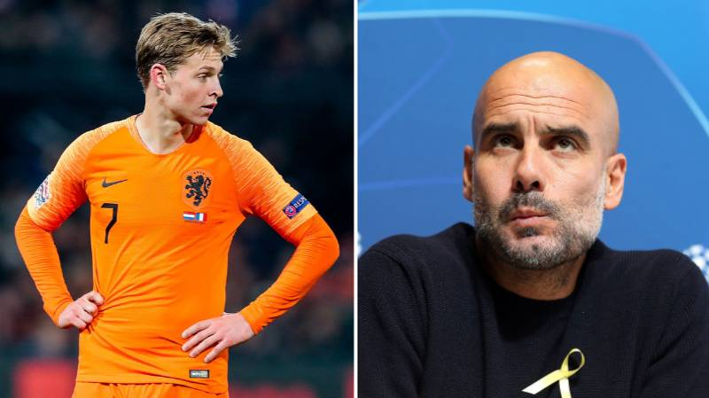 Manchester City Quoted £75 Million In Battle To Sign Frenkie De Jong