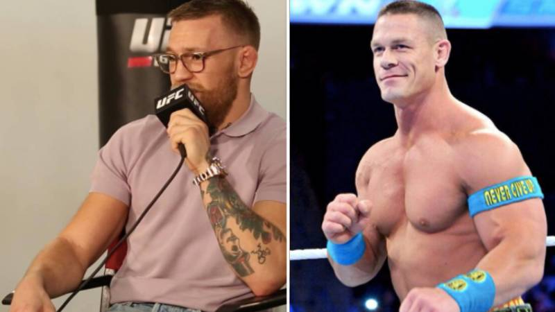 What John Cena Has Said About Conor McGregor Surprises Everybody