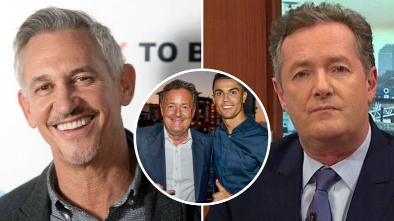 Gary Lineker Brutally Shuts Down Piers Morgan After Lionel Messi Beat Cristiano Ronaldo To FIFA Best Award