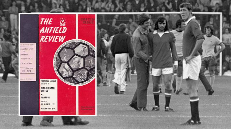 When Manchester United Played A Home Game At Anfield