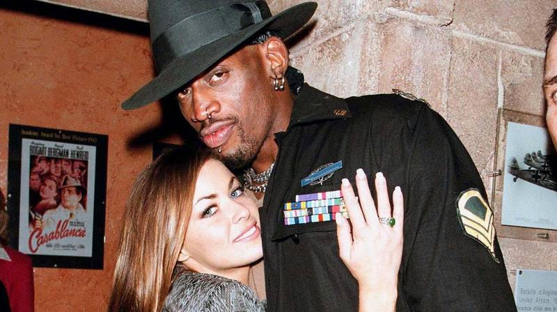 Carmen Electra Says She And Dennis Rodman Had Sex 'All Over' Chicago Bulls Facility