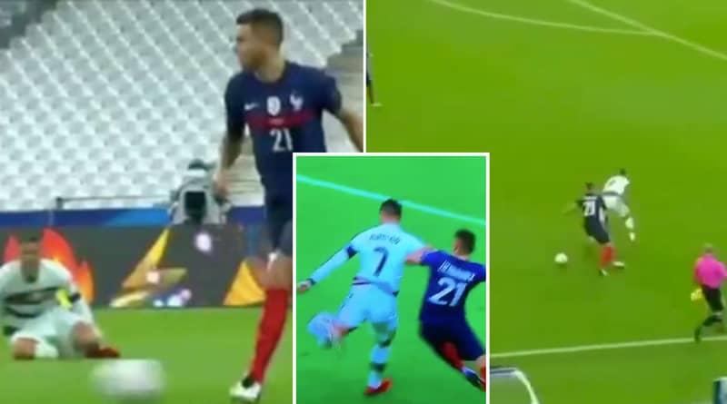 Cristiano Ronaldo Was Kept Quiet By Lucas Hernandez's Brilliant Performance