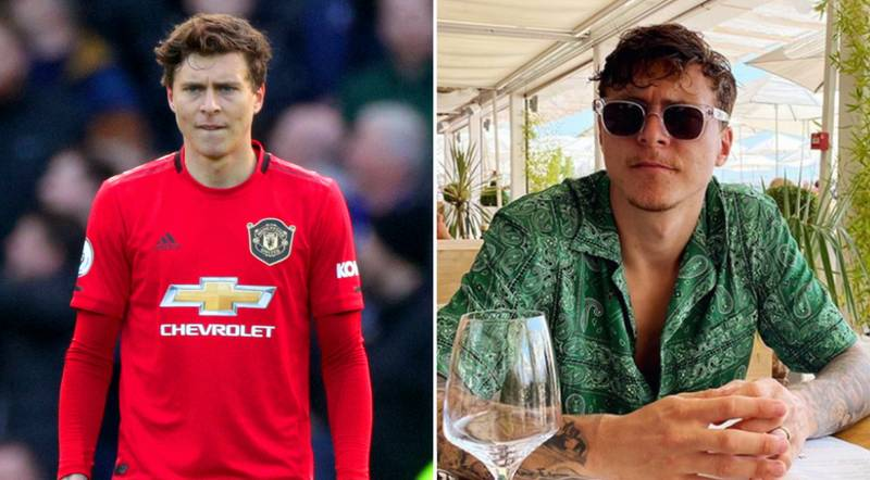 Victor Lindelof Saves Elderly Woman From Thief Stealing Her Bag