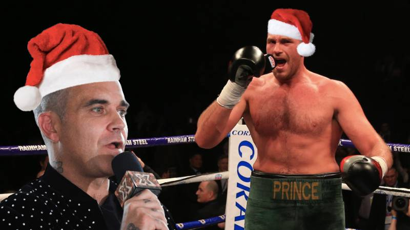 Tyson Fury And Robbie Williams To Release A Christmas Song Together