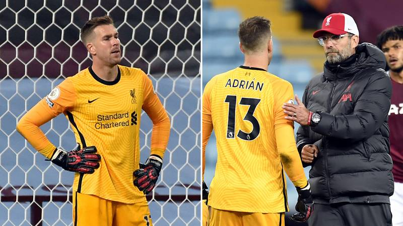 Liverpool Launch Deadline Day Bid For New Goalkeeper After Adrian Disasterclass Vs Aston Villa