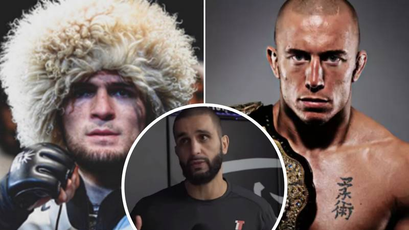 Georges St-Pierre's Coach Breaks Down Potential Super Fight With Khabib Nurmagomedov