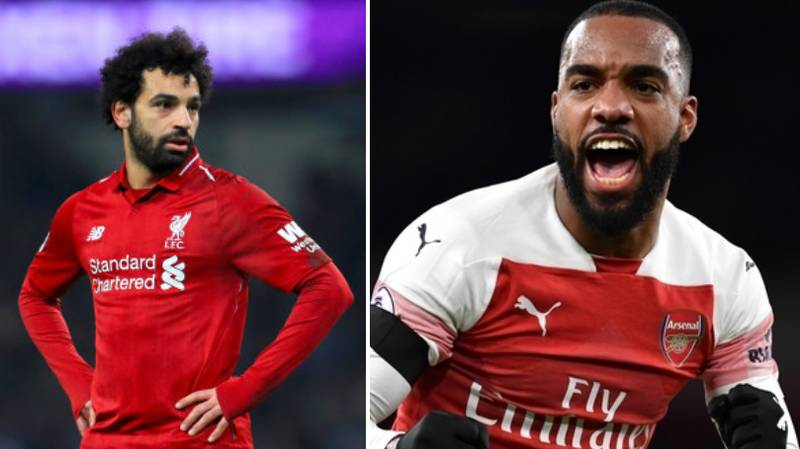 How Arsenal's Alexandre Lacazette Reacted To Liverpool Losing On Social Media