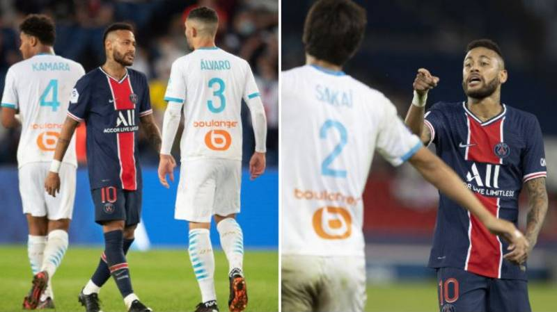 Neymar Accused Of Racist Remark In Marseille Game