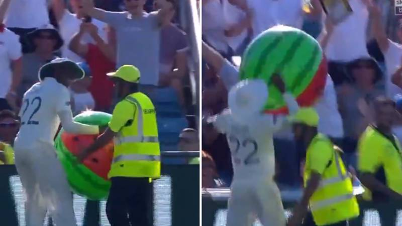 Jofra Archer Gives England Something To Cheers As He Returns Beachball From Steward