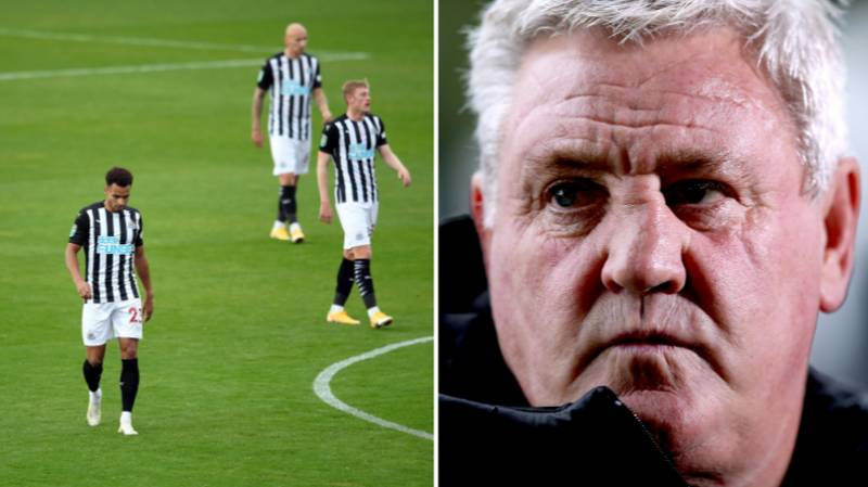 Steve Bruce Says His Newcastle United Players Have Been 'Absolute Sh*te'