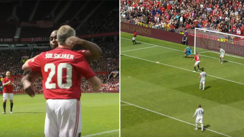 Ole Gunnar Solskjær Comes Off The Bench To Score Versus Bayern Munich In Treble Reunion Match