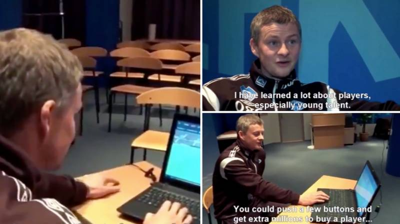 """Ole Gunnar Solskjaer Says In Interview That He's """"Learned A Lot"""" About Football From Playing Football Manager"""