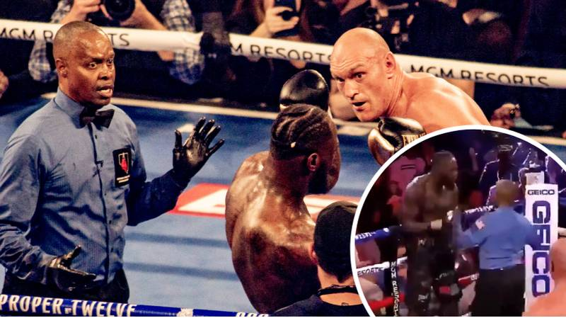 Deontay Wilder's First Words When His Corner Stopped Fight Against Tyson Fury