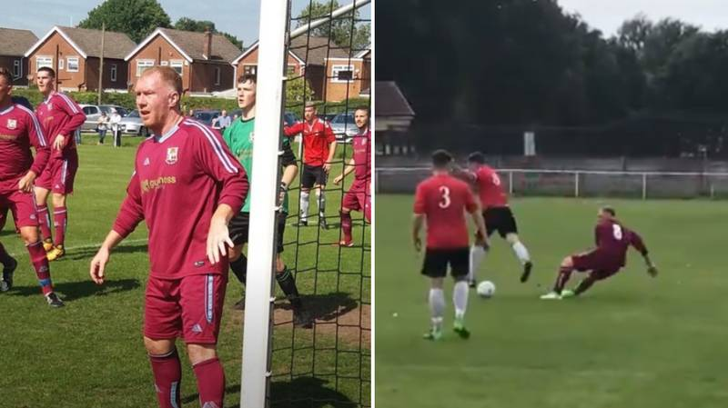 Paul Scholes Turns Out For Royton Town In The 11th Tier Of English Football