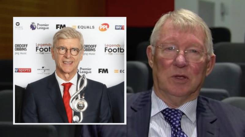 Sir Alex Ferguson Pays Tribute To Arsene Wenger In Brilliant Video Message