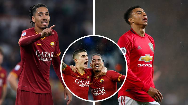 Chris Smalling Has Scored And Assisted More Than Jesse Lingard This Season