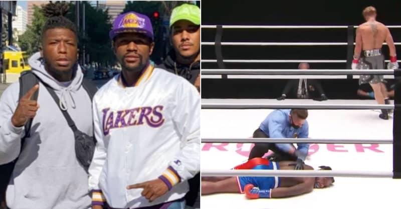Floyd Mayweather Says Black Athletes Shouldn't Mock Nate Robinson After Jake Paul KO
