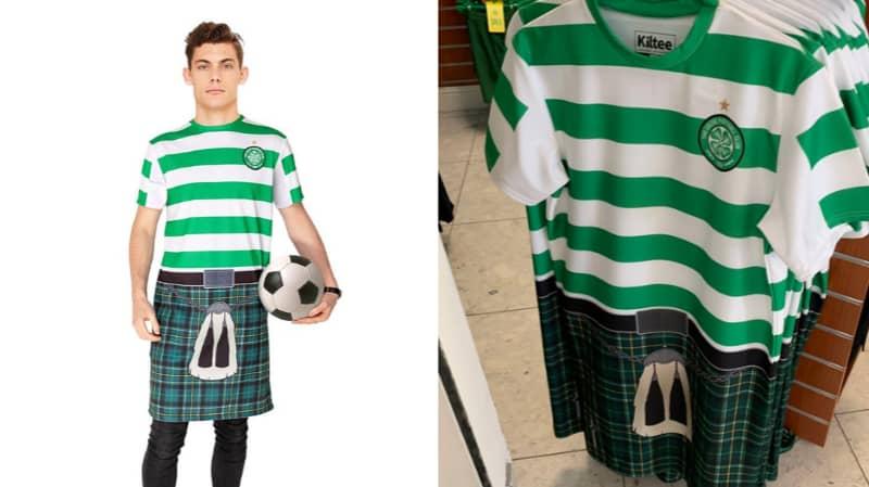 Celtic Are Selling The Half Kilt, Half T-Shirt 'Kiltee'