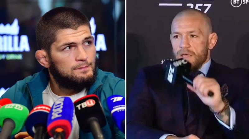 Conor McGregor Responds To 'Disrespectful' Khabib Nurmagomedov After UFC 257 Loss