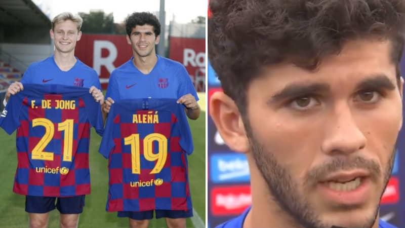 Carles Alena Fumes At Barcelona Board Promising Frenkie De Jong The No.21 Shirt