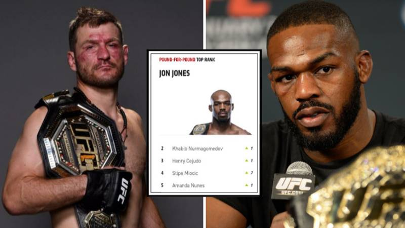 Jon Jones Named Number One Pound-For-Pound Fighter In New UFC Rankings