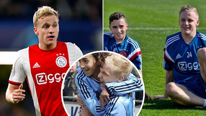 'Appie' Nouri 'Shed Tears Of Joy' When Donny Van De Beek Told Him About Manchester United Move
