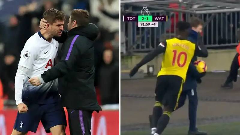 Tottenham Fans Are Loving What This Ball-Boy Did During Watford Match