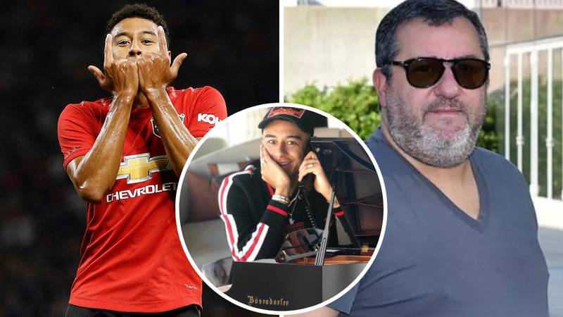 Jesse Lingard Set To Join Up With Mino Raiola And Could Leave Man Utd